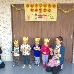 10.11.12月生まれのお誕生日会をしました
